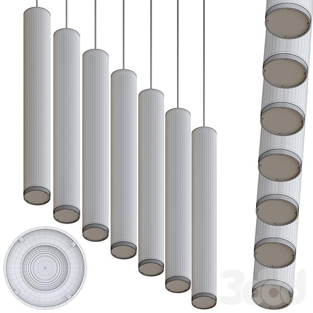 Olev Beam Stick 60 Pendant Lamp by Marc Sadler Pack 1