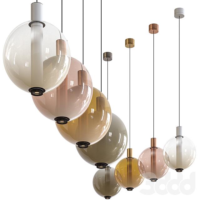 Olev Beam Stick Nuance Pendant Lamp