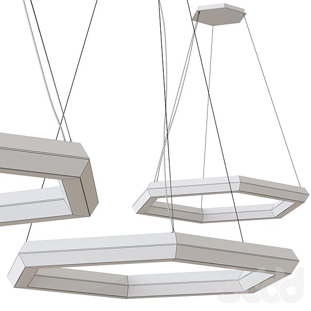 Olev Exagon LED Pendant Lamp