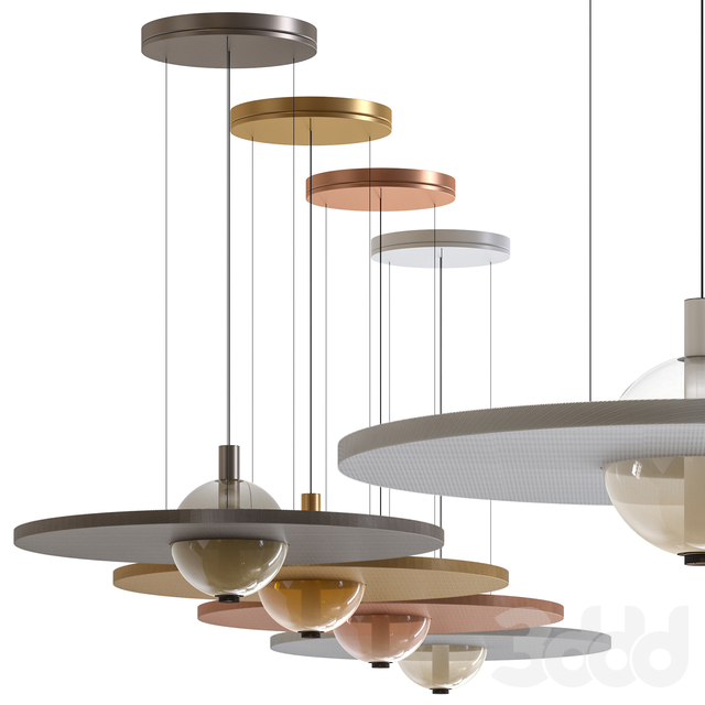 Eclipse Nuance Silence Pendant Lamp by Olev