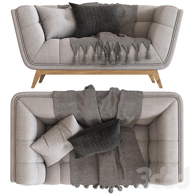 Cult Furniture Magnus 2 Seater Sofa