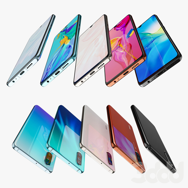 Huawei P30 all colors
