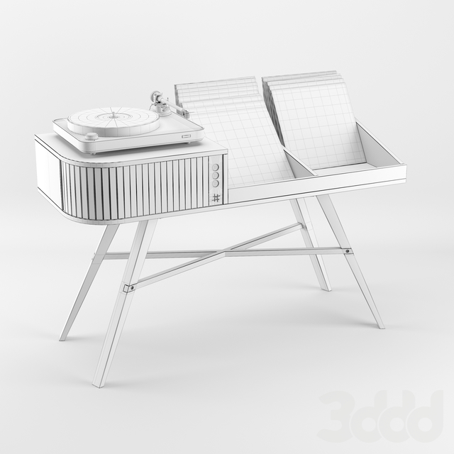 The Vinyl Table Hrdl