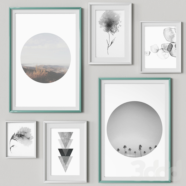 Nice Picture Frames Set 1