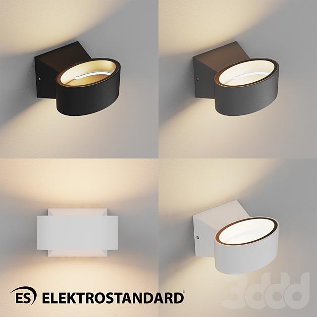 ОМ Уличный настенный светодиодный светильник Elektrostandard 1549 TECHNO LED