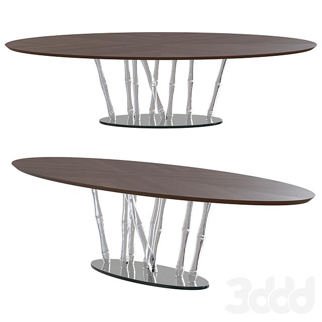 Reflex Bamboo Wooden Table