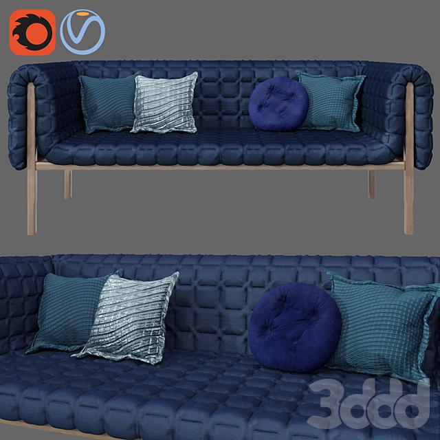Modern upholstery Ruche ligne roset Sofa