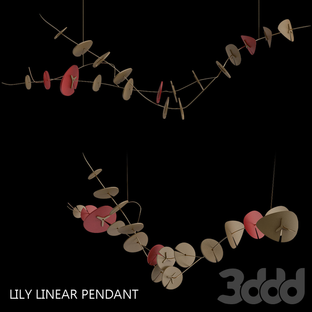 Lily Linear Pendant