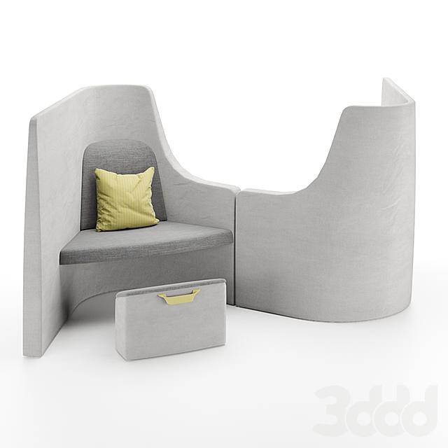 Vee Sofa