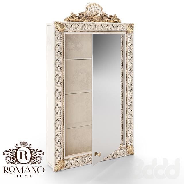 (ОМ) Зеркало/Стеллаж/Шкаф Лора Romano Home