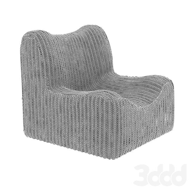 Bazar Bizar WATERHYACINTH  Armchair Natural fibre armchair