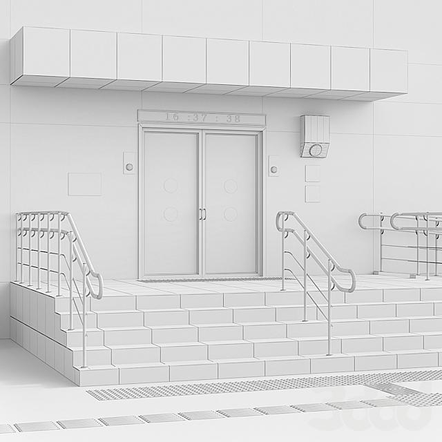 Адаптация входной группы в здание для инвалидов. Часть 2