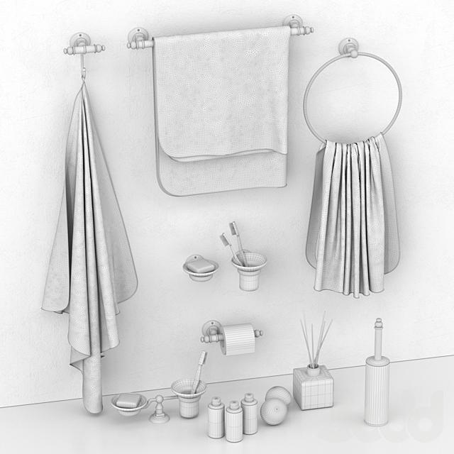 Набор аксессуаров для ванной Simas