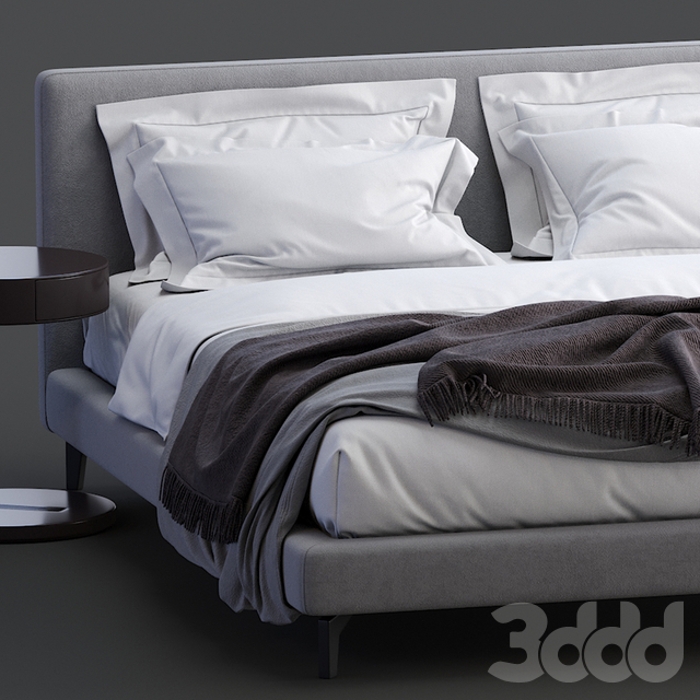 Meridiani Bed Stone Up
