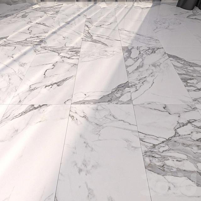 Marble Floor Eternal White Set 2