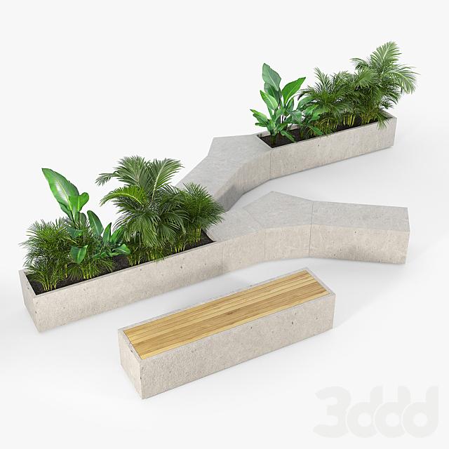 BOX PLANTER Tropics