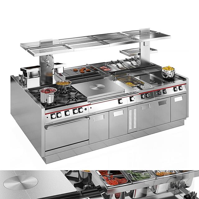 Модульная кухня Angelo Po ICON9000