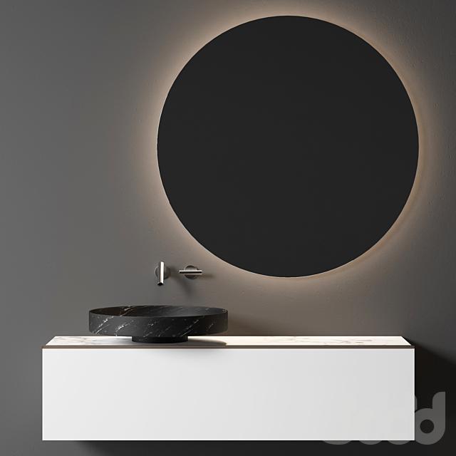Мебель для умывальника Falper Eccentrico