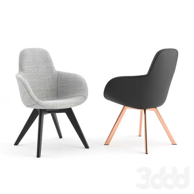 Scoop Chairs by Tom Dixon
