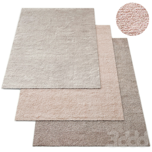 Plush Performance Handwoven Shag Rug RH Baby and Child Collection