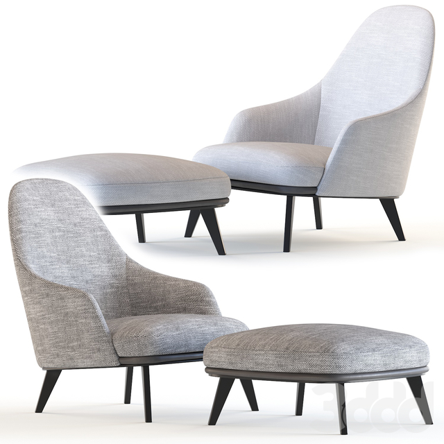 JANE LOUNGE  Armchair