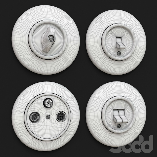 Rusty wall switches & Sockets