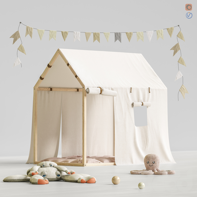 Toys and furniture set 67