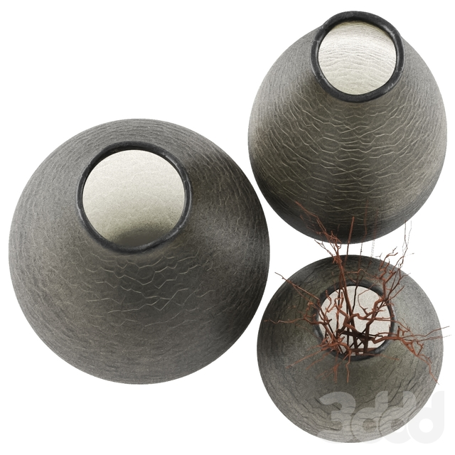 Pusha(RVAstley) Vases Set