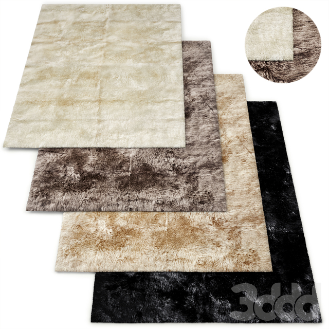 Ultra-Luxe New Zealand Sheepskin Rug RH Collection