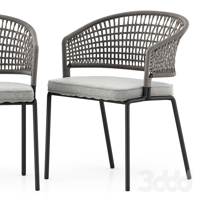 CTR armchair by Tribu