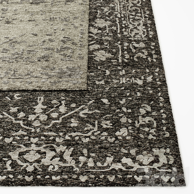 Savoy Braided Hand-Knotted Rug RH Collection