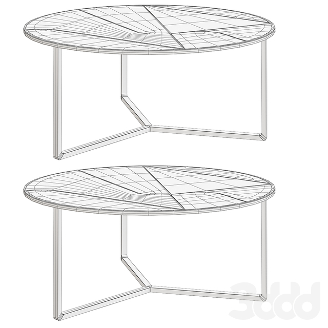 Atlasproject ITINERA COFFEE TABLE
