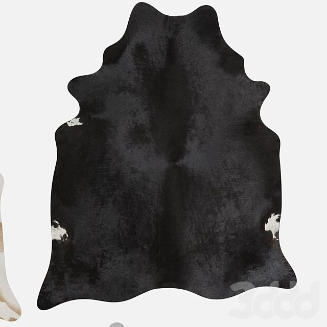 Ковер из шкуры коровы/Cow Hide Rug