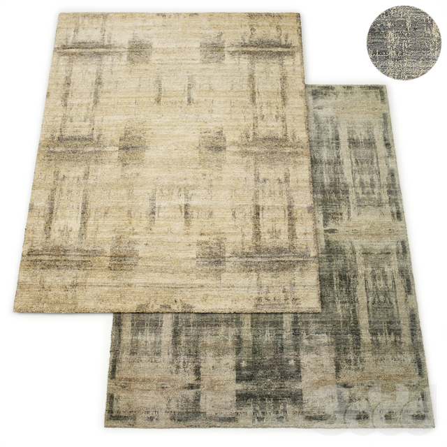 Axis Hand-Knotted Wool Rug RH Collection