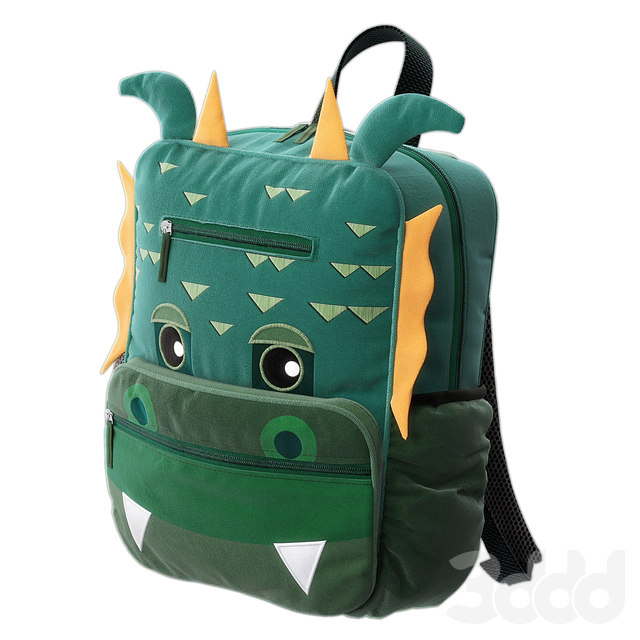 Tiger, Dragon Backpack