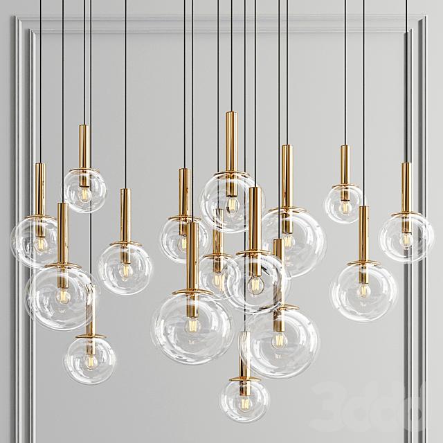 Sonneman Bubbles Pendant Collection