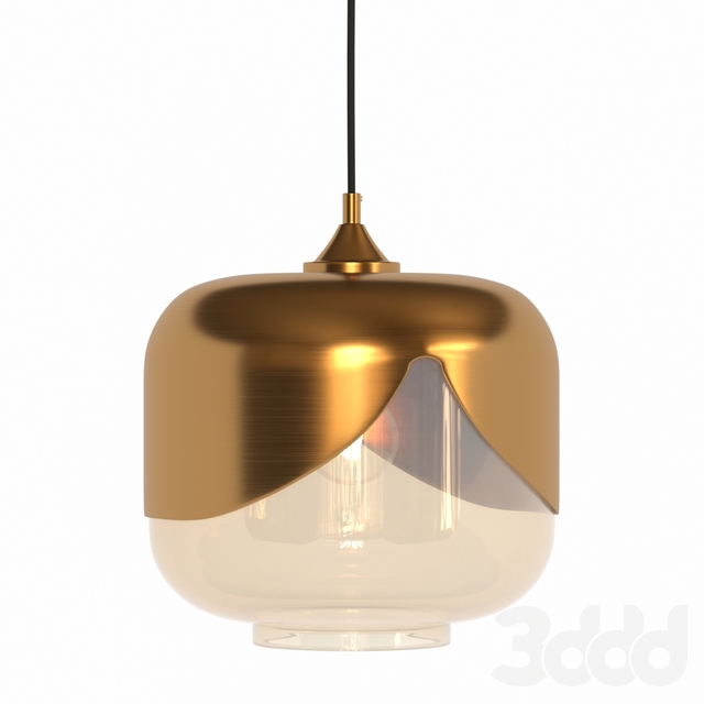 Kare Hanging Lamp Golden Goblet