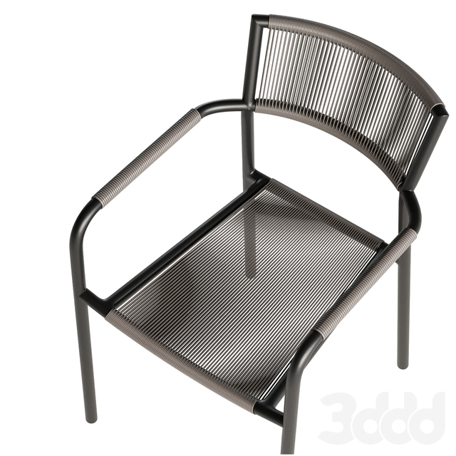 Morocco Graphite Dining Chair Crate and Barrel