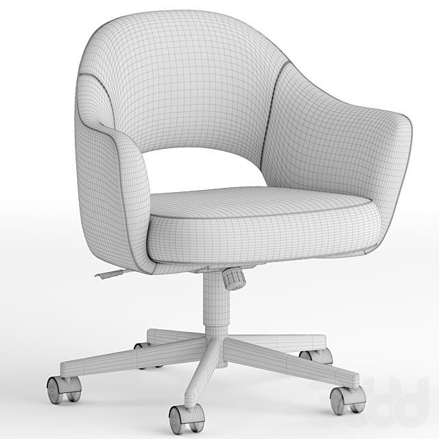 Knoll Saarinen swivel base armchair