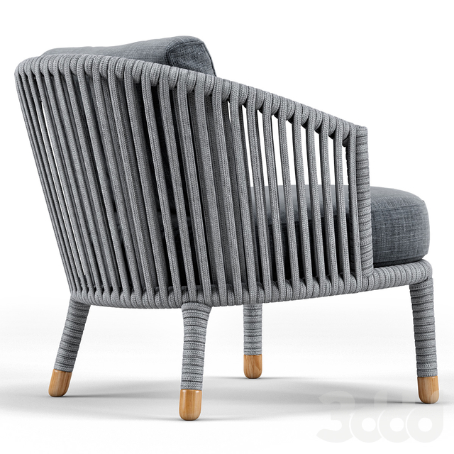 Cane Line Moments Lounge Chair