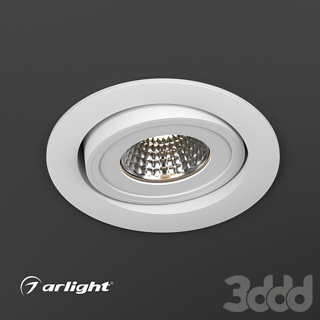 Светодиодный светильник LTD-95WH 9W