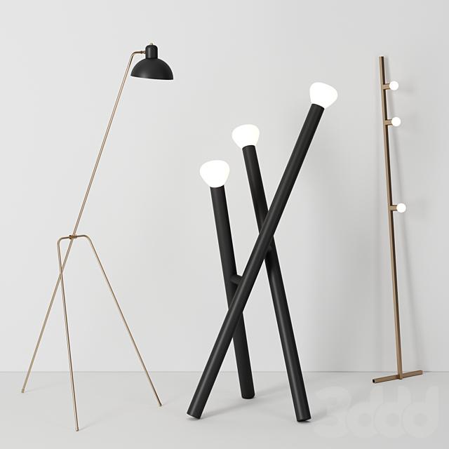 Floor lamps by Lambert&Fils