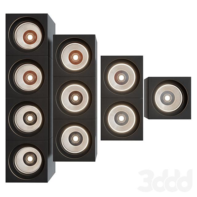 Modular Lighting Instruments QBINI TRIMLESS ROUND IN