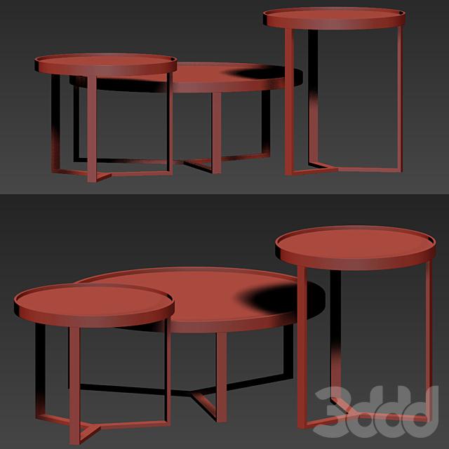 Made Aula Table Set 03