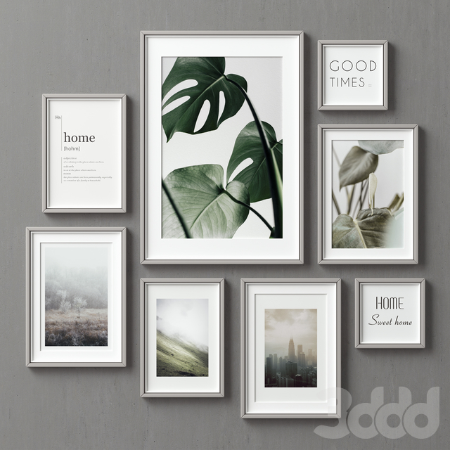 Picture Frames Set-112