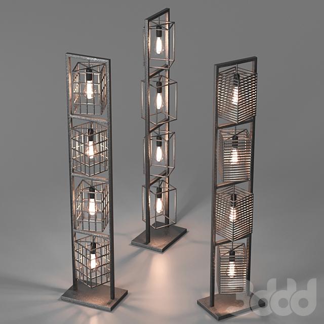 Floor lamp Kube