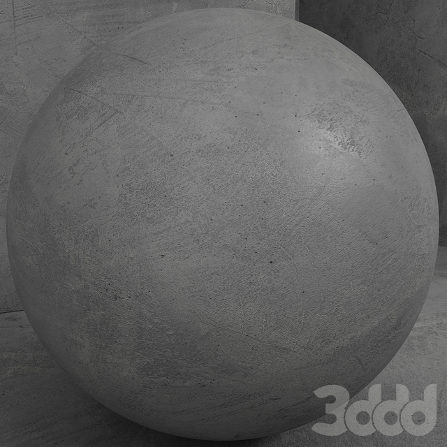 Материал (бесшовный) - бетон штукатурка set 129