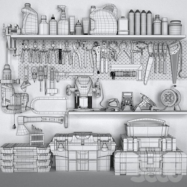 garage tools set 3