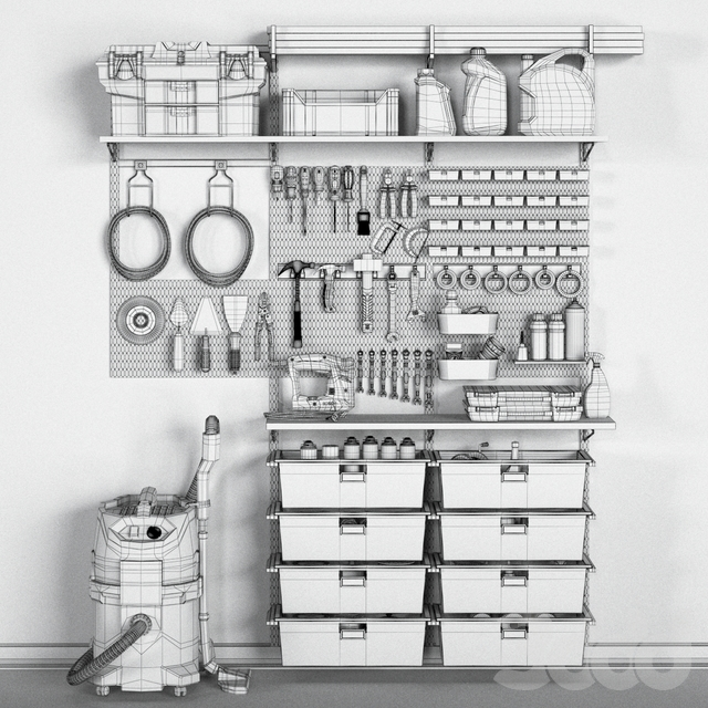 garage tools set 11