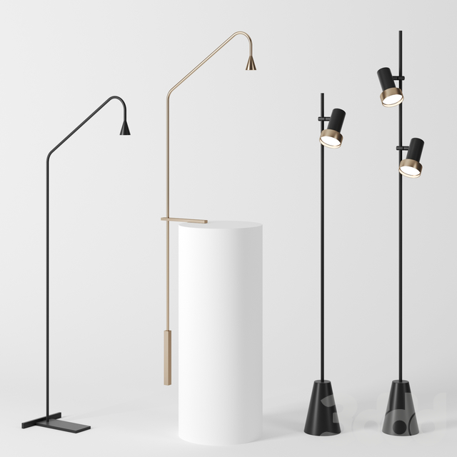 Floor lamps by trizo21